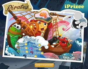 Prizee Jeu des pirates