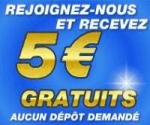 5€ offerts