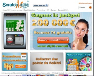Scratchmania.com Homepage