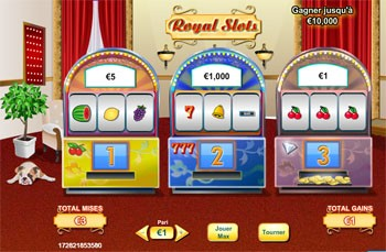 Royal Slot Machines a sous de wingrattage