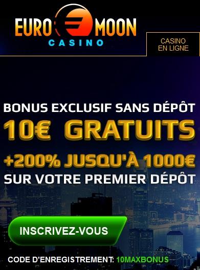 Recevoir 10 € de bonus en plus